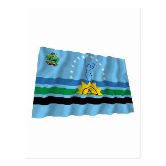Monagas Waving Flag Postcard