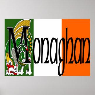 Monaghan Celtic Dragon Print