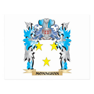 Monaghan Coat of Arms - Family Crest Post Card