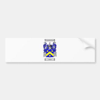 Monahan Coat of Arms Car Bumper Sticker