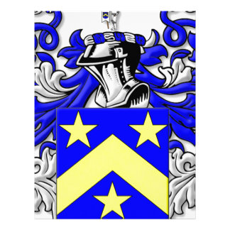 Monahan Coat of Arms Letterhead Template
