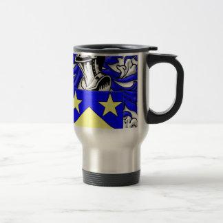 Monahan Coat of Arms 15 Oz Stainless Steel Travel Mug