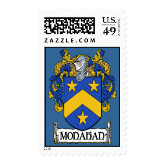 Monahan Coat of Arms Postage Stamps