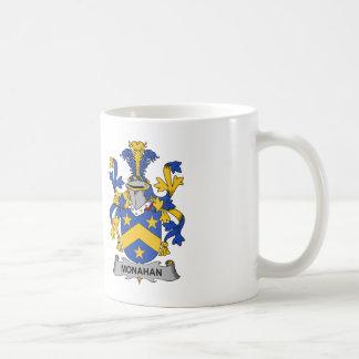 Monahan Family Crest Classic White Coffee Mug