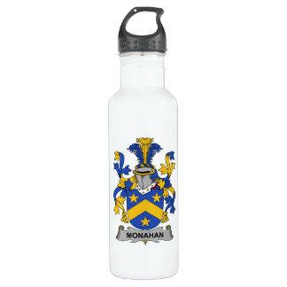 Monahan Family Crest 24oz Water Bottle