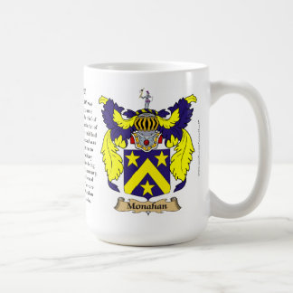 Monahan name, the Origin, the Meaning and the Cres Coffee Mug
