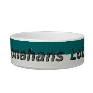 """""""Monahans Lobos"""" Cat Bowl"""