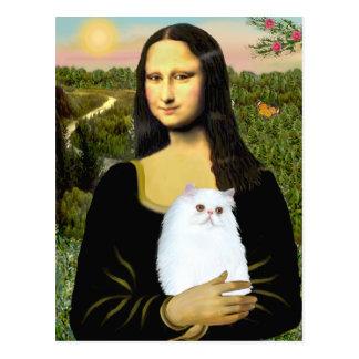 MonaLisa - gatito persa blanco #49 Postal