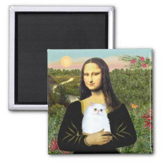MonaLisa - White Persian kitten #49 Magnet