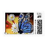 monarca azul sellos
