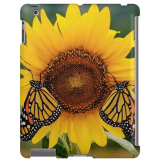 Monarca Butterfies en el girasol