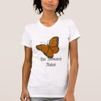 Monarca de la mariposa, las reglas del monarca playera