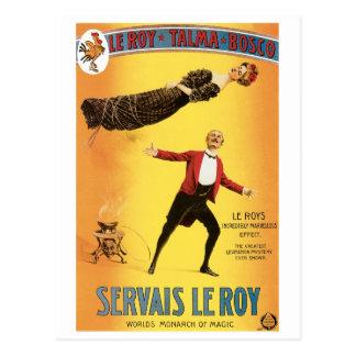 Monarca del vintage del ~ de Servais Le Roy del Postales