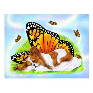 Monarca místico de Papillon Postal