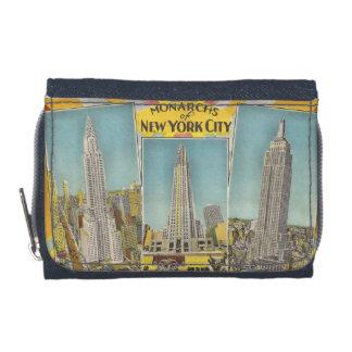 Monarcas del diseño del vintage de Nueva York
