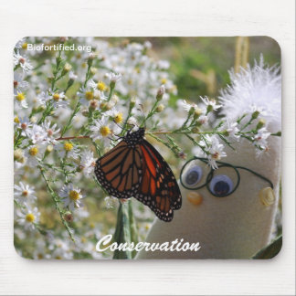 Monarch and Frank Mouse Pad