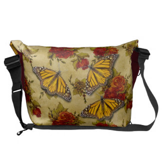 MONARCH AND ROSES COURIER BAGS