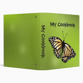 Monarch Binder - Cookbook