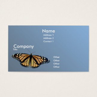Monarch Business Card