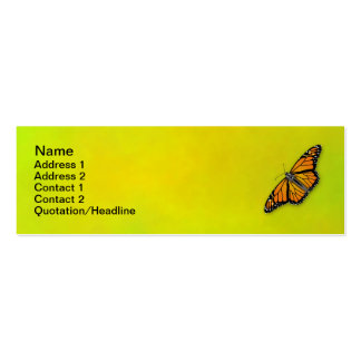 Monarch Business Card (Customizable)
