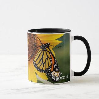 Monarch Butterfies on Sunflower Mug