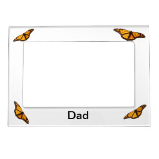 "Monarch Butterflies 5"" x 7"" Magnetic Frame"