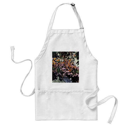 Monarch Butterflies Adult Apron