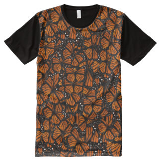 Monarch Butterflies All-Over-Print T-Shirt