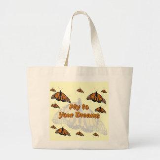 Monarch Butterflies Jumbo Tote Bag