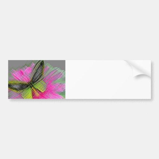 Monarch Butterflies Bumper Sticker