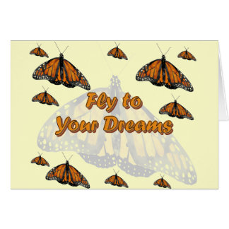 Monarch Butterflies Card