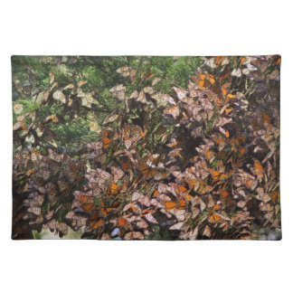 Monarch Butterflies Cloth Placemat