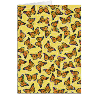 MONARCH BUTTERFLIES GREETING CARDS