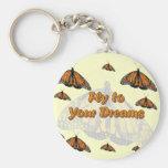 Monarch Butterflies Keychains