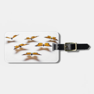 Monarch Butterflies Luggage Tag