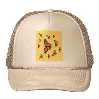 Monarch Butterflies Migration by Sharles Mesh Hats