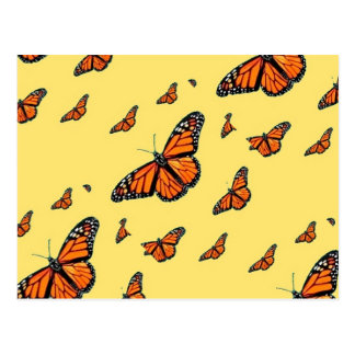 Monarch Butterflies Migration by Sharles Postcard