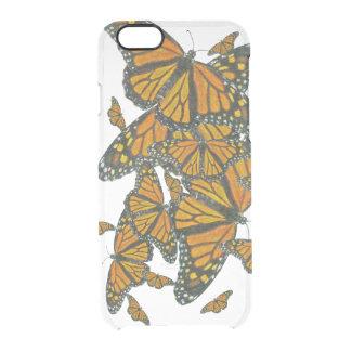Monarch Butterflies - Migration Clear iPhone 6/6S Case