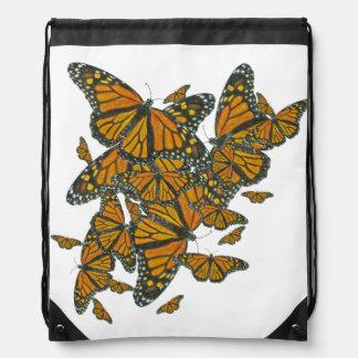 Monarch Butterflies - Migration - Drawstring Bag