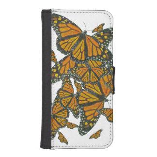 Monarch Butterflies - Migration iPhone SE/5/5s Wallet Case