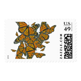 Monarch Butterflies - Migration Postage Stamps