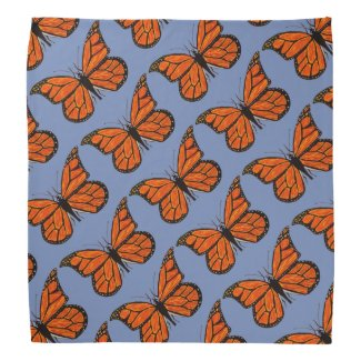 Monarch Butterflies on Bandana
