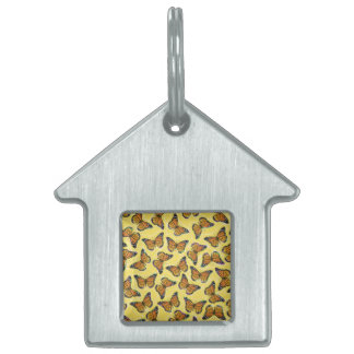 MONARCH BUTTERFLIES PET TAG