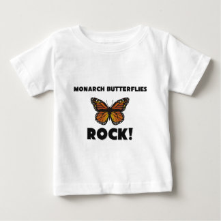 Monarch Butterflies Rock Baby T-Shirt