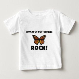 Monarch Butterflies Rock Baby T-Shirt