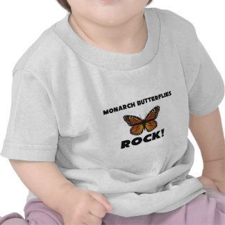 Monarch Butterflies Rock T Shirts