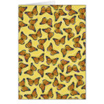 MONARCH BUTTERFLIES STATIONERY NOTE CARD