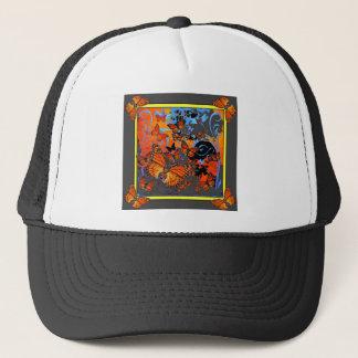 Monarch Butterflies Stormy Weather Art Trucker Hat