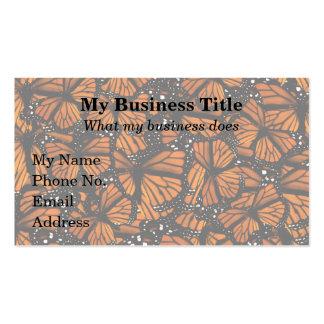 Monarch Butterflies Swarming Business Card