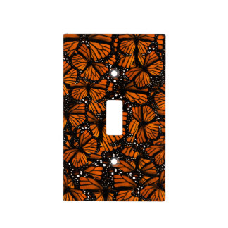 Monarch Butterflies Swarming Light Switch Cover